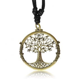 ''Tree of life'' necklace