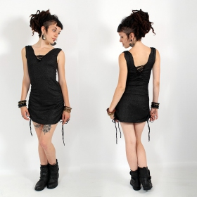 \\\'\\\'Alchemy Mayan\\\'\\\' dress, Black