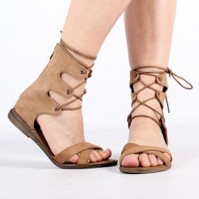\'\'Ashna\'\' sandals, Camel