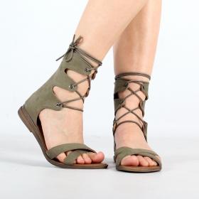 \'\'Ashna\'\' sandals, Khaki