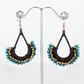 \\\'\\\'Asmaa\\\'\\\' earrings
