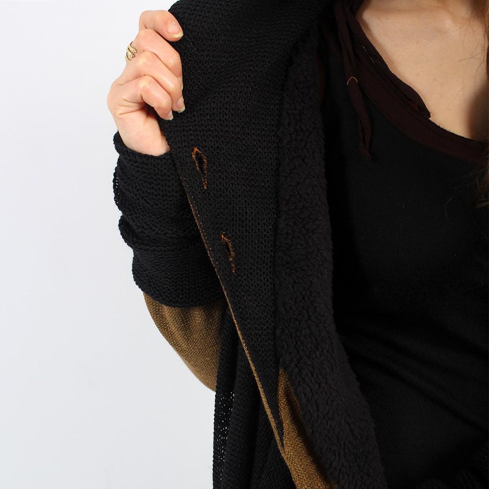 \\\'\\\'Azmäe\\\'\\\' lined jacket, Rusty and black