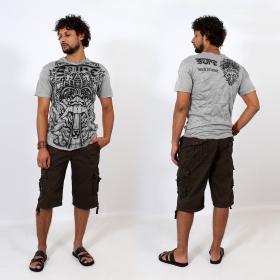 \\\'\\\'Bali dragon\\\'\\\' t-shirt, Light grey