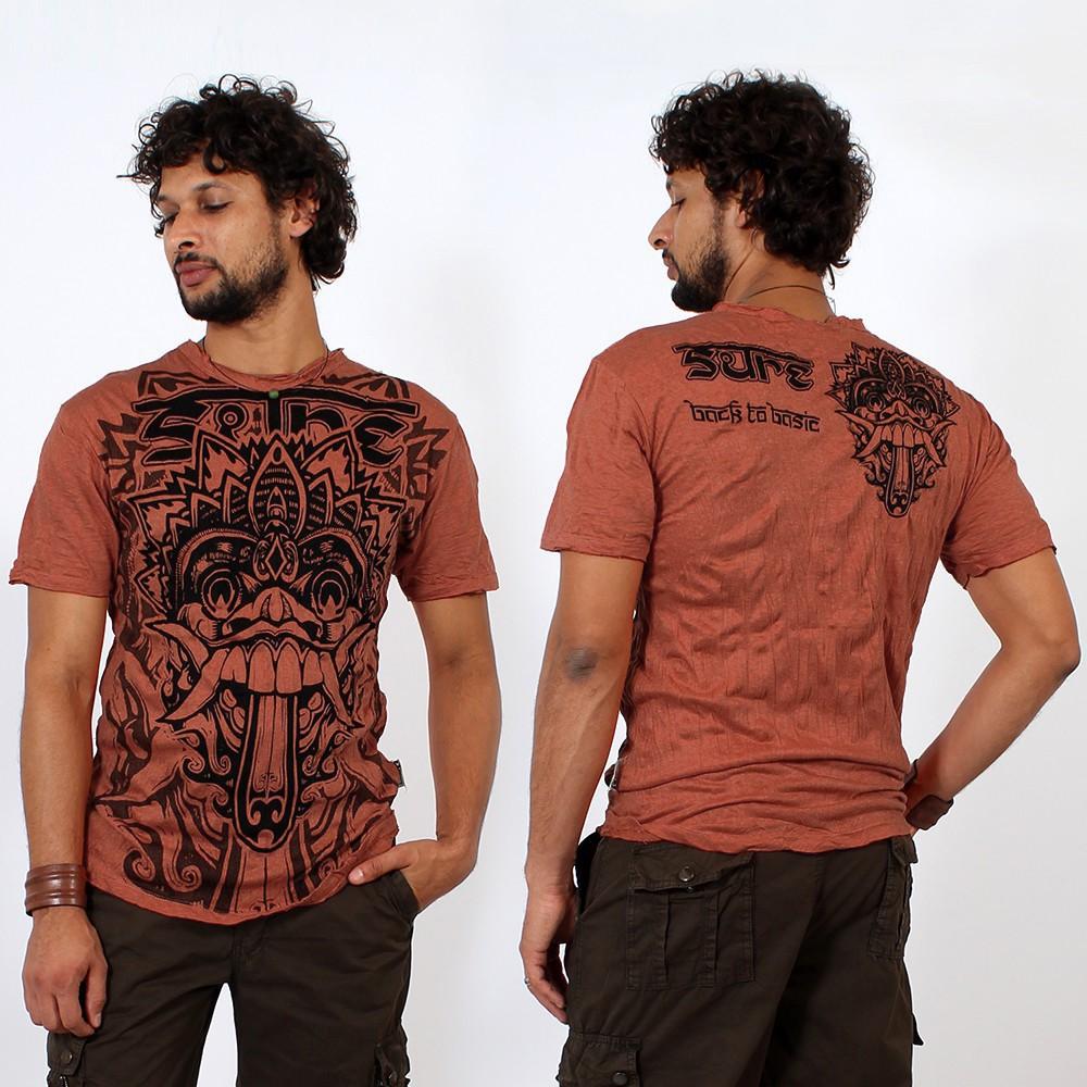 \\\'\\\'Bali dragon\\\'\\\' t-shirt, Orange