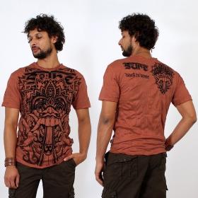 T-shirt \\\'\\\'Bali dragon\\\'\\\', Orange