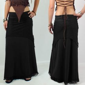 \'\'Bohemian\'\' Skirt, Black