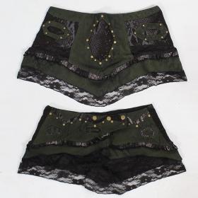 \\\'\\\'Brokat\\\'\\\' Skirt, kaki and black