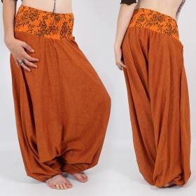 \\\'\\\'Chewa\\\'\\\' harem pants, Orange