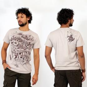 \'\'City Steps\'\' t-shirt, Beige
