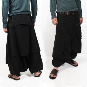 \'\'Dervish\'\' harem pants, Black