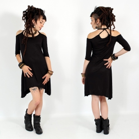 \\\'\\\'Diana\\\'\\\' dress, Black