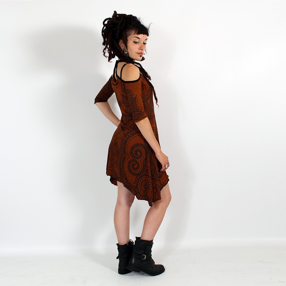 \'\'Diana Paisley\'\' dress, Sienna