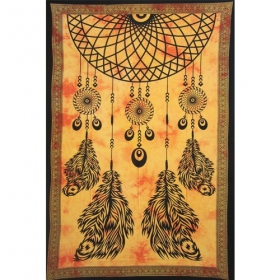 \'\'Dream Catcher\'\' hanging, Orange