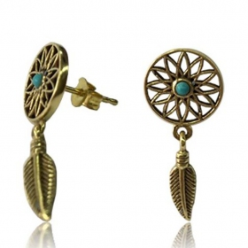 \'\'Dreamcatcher\'\' earrings