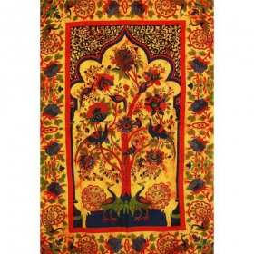 \\\'\\\'Eden Garden\\\'\\\' hanging, Orange