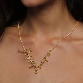 \'\'Euphoria\'\' necklace, Endorphin molecule