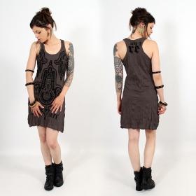 \\\'\\\'Fatma Hand\\\'\\\' dress, Dark purple