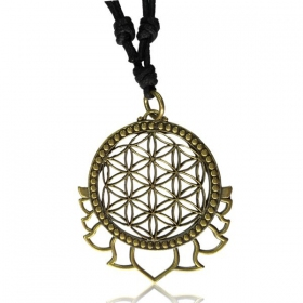 \'\'Fleur de vie\'\' necklace