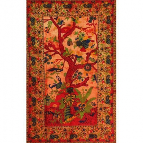 \\\'\\\'Floral Tree of Life\\\'\\\' hanging, Yellow