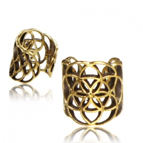 \'\'FlowerOfLife\'\' ear cuff