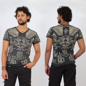 \'\'Golden Bull\'\' t-shirt, Dark grey