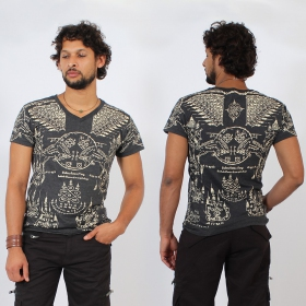 \'\'Golden Bull\'\' t-shirt, Dark grey