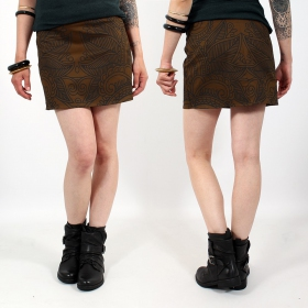\\\'\\\'Ishtar Paisley\\\'\\\' skirt, Brown