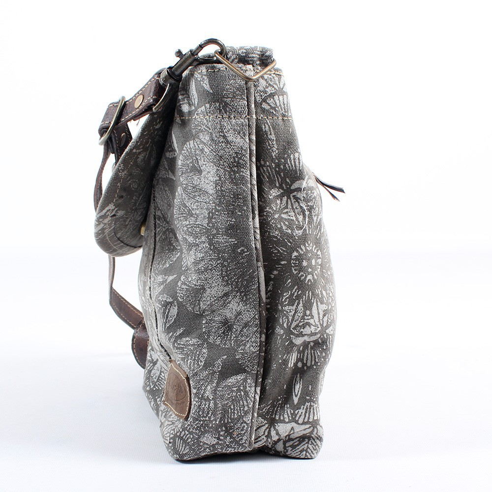 \\\'\\\'Jahanara\\\'\\\' bag, Grey and brown
