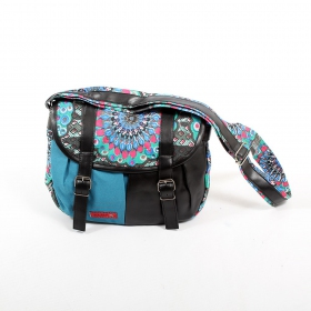\\\'\\\'Kanika\\\'\\\' bag, Black and blue