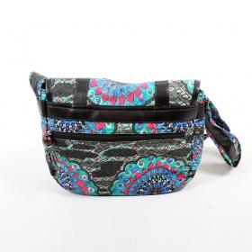 \\\'\\\'Kanika\\\'\\\' bag, Black and blue