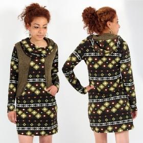 \'\'Kanlaya Prija\'\' dress, Khaki