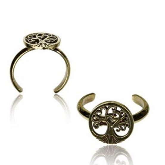 \'\'Laghu tree of life\'\' toe ring