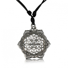 \'\'Lotus flower of Life Pali\'\' necklace