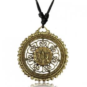 \'\'Lotus mandala\'\' necklace