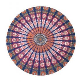 \\\'\\\'Mandala\\\'\\\' roundie hanging, Multicolor