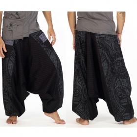 \'\'Necka\'\' harem pants, Black