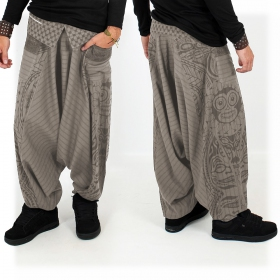 \'\'Necka\'\' harem pants, Steel