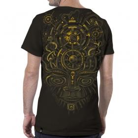 \'\'Nightvision\'\' T-shirt, Dark brown