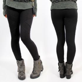 \'\'Nyepi\'\' long leggings, Black