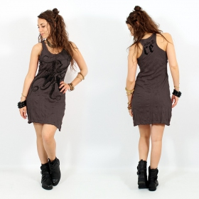 \\\'\\\'Octopus\\\'\\\' dress, Dark purple