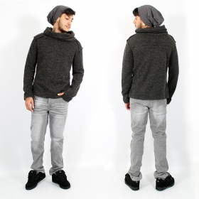 \'\'Özz\'\' thick pullover, Grey