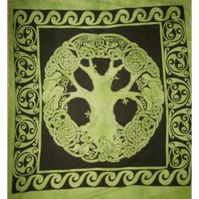 """Angel Tree"" hanging, Green"