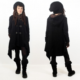"""Sadhana"" Jacket, Black"
