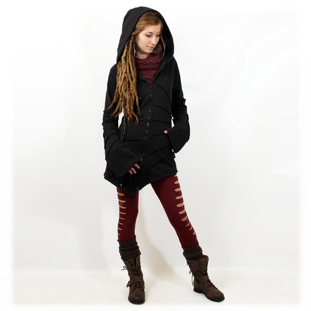 """""""Asymmetrical"""" jacket, Black"""