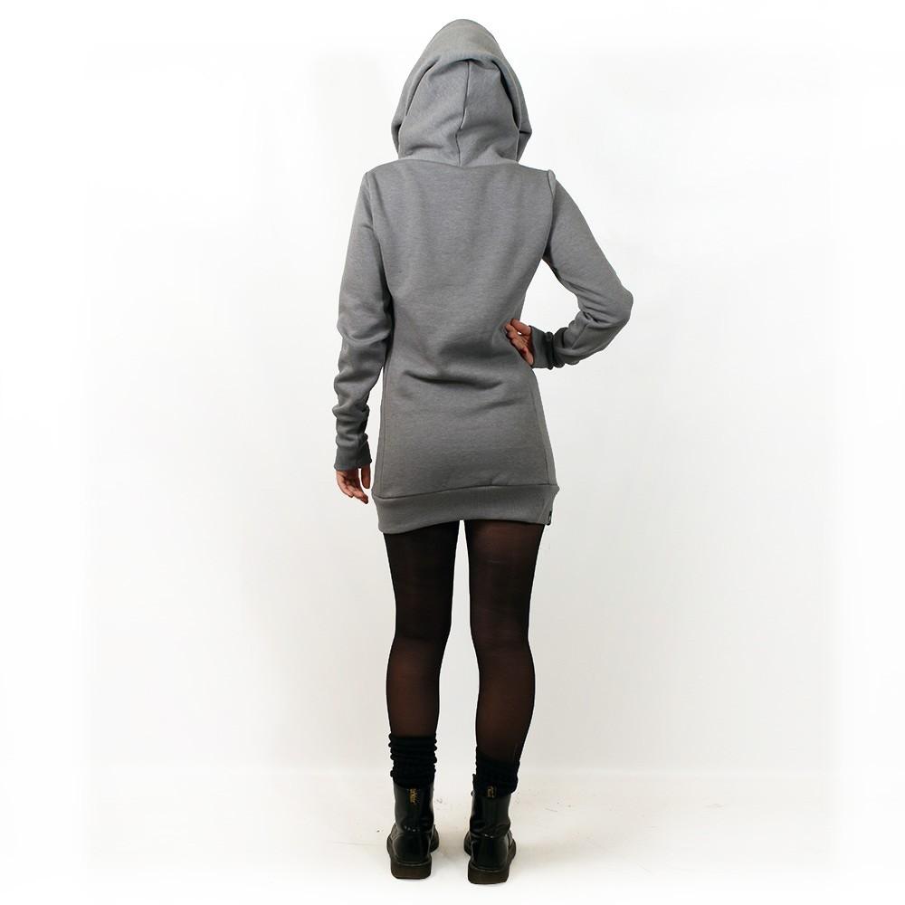 """""""Lovely Reaper"""" hoodie, Plain Black"""