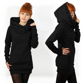 """Lovely Reaper"" hoodie, Plain Black"