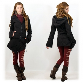 """Asymmetrical"" jacket, Black"