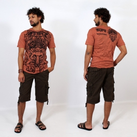 """Bali Dragon"" t-shirt, Orange"