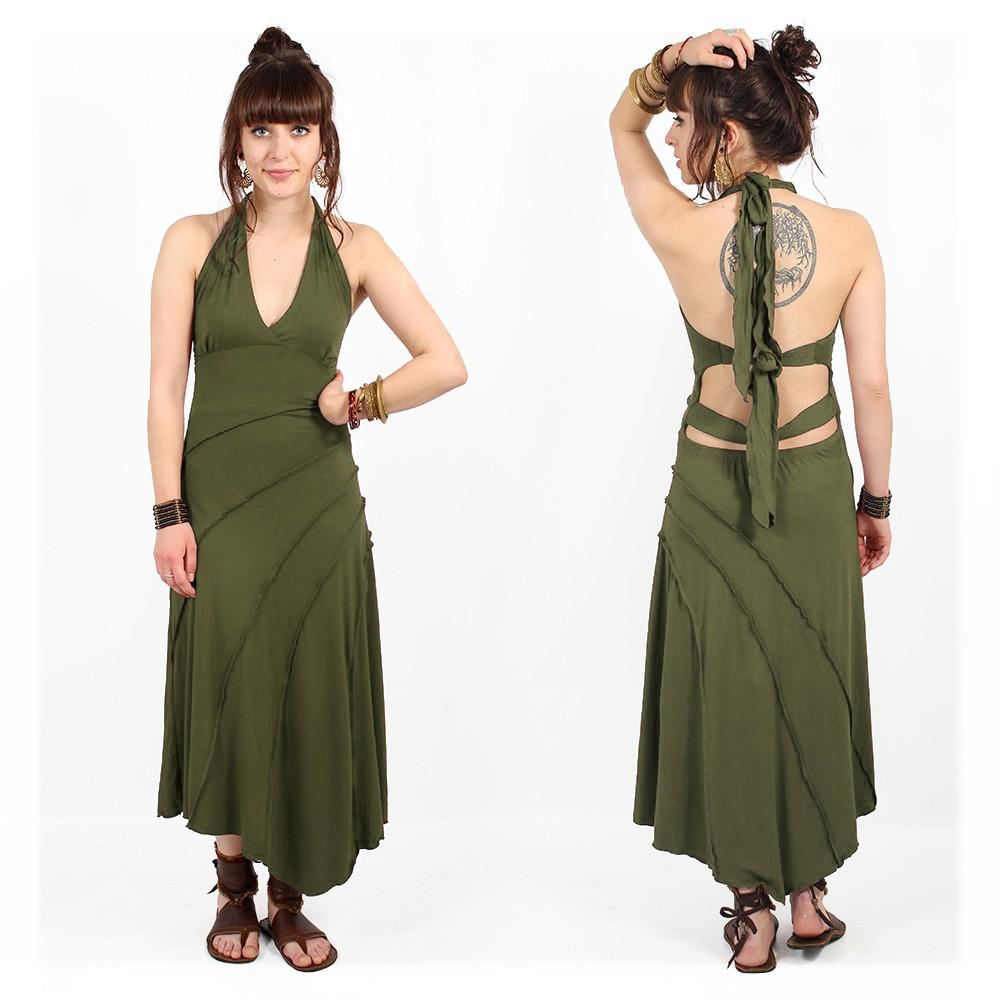"I See ""Kaylah""dress, Army green"