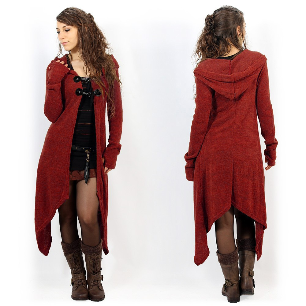 """Makshi"" cardigan, Red"